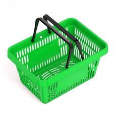 Корзины покупательские пластик