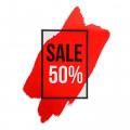 Наклейка для ветрин *SALE 50%*